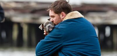 Tom Hardy als Tierfreund in The Drop