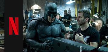 Bild zu:  Ben Affleck und Zack Snyder am Set voin Batman v Superman: Dawn of Justice