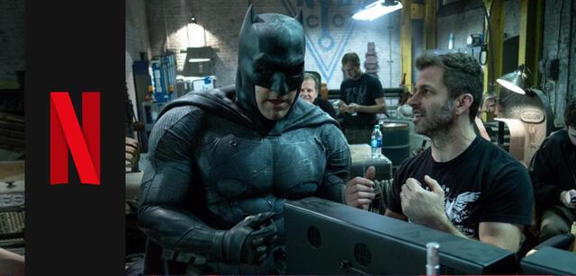 Ben Affleck und Zack Snyder am Set voin Batman v Superman: Dawn of Justice
