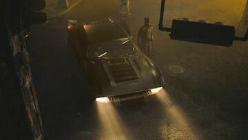 Das Batmobil nebst Batman