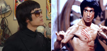Mike Moh und Bruce Lee