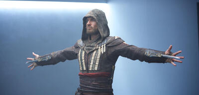 Michael Fassbender in Assassin's Creed
