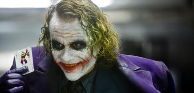 Joker mit Karte