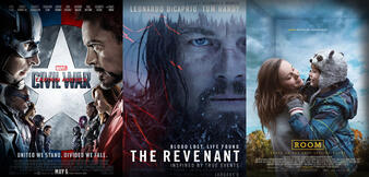 The Revenant/The First Avenger: Civil War/The Big Short