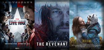 The Revenant/The First Avenger: Civil War/The Big Short