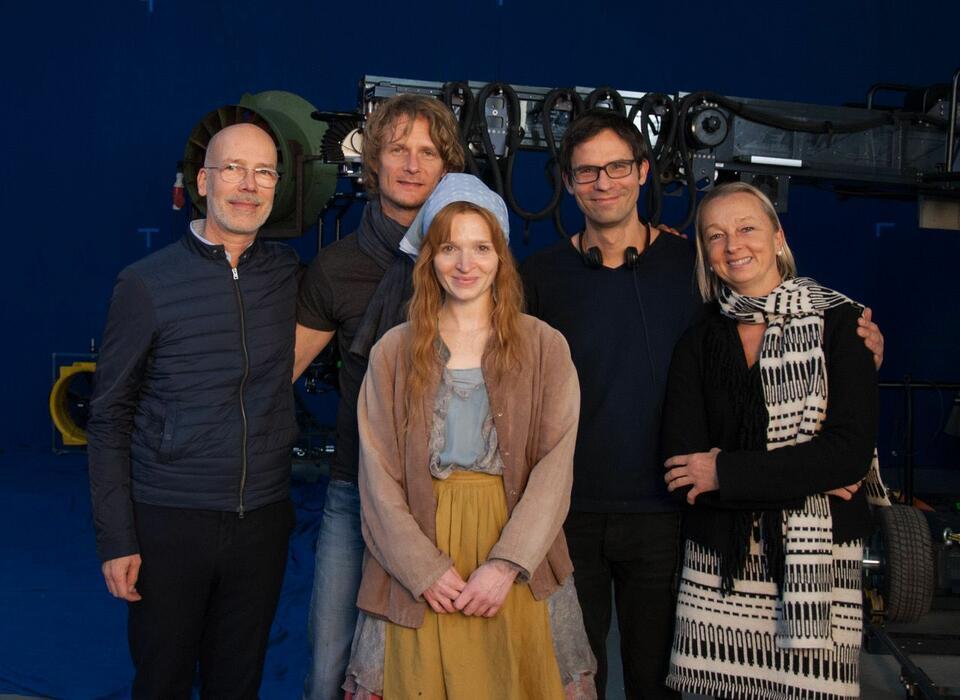 Die kleine Hexe mit Karoline Herfurth und Mike Schaerer