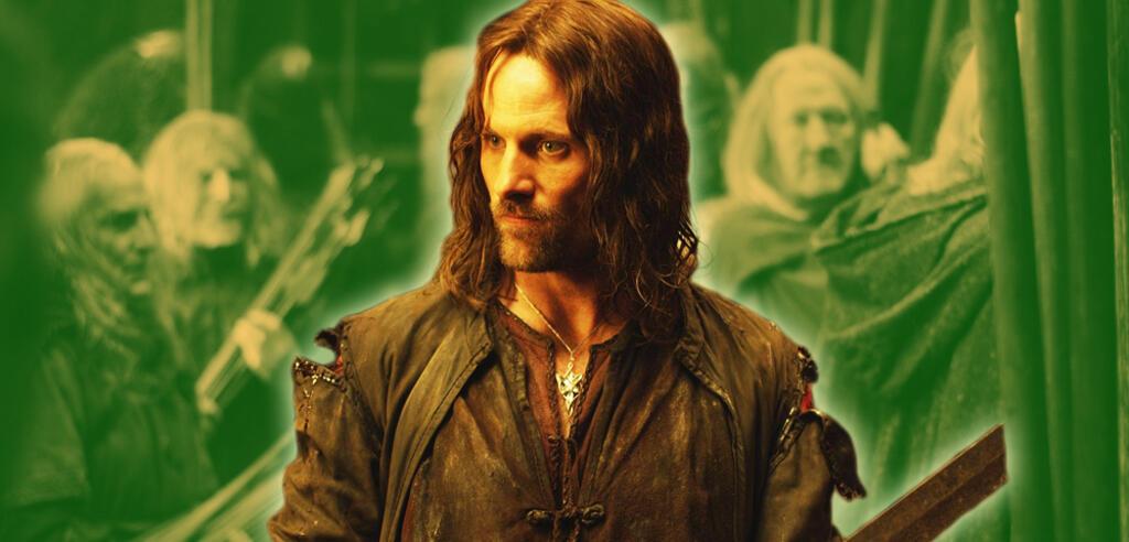 Viggo Mortensen als Aragorn in Der Herr der Ringe: Die zwei Türme