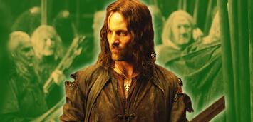 Bild zu:  Viggo Mortensen als Aragorn in Der Herr der Ringe: Die zwei Türme