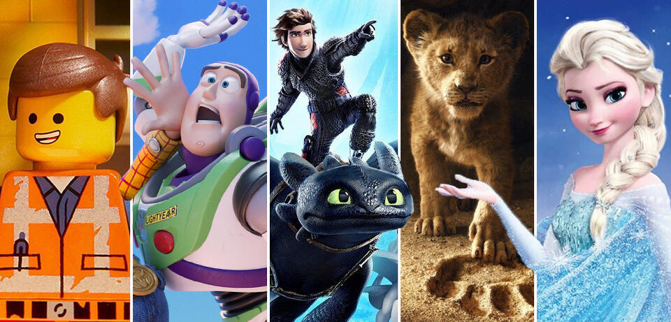 Animationsfilme 2019 im Kino