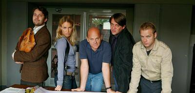 Das Team um Christian Ulmen (l.) aus Dr. Psycho