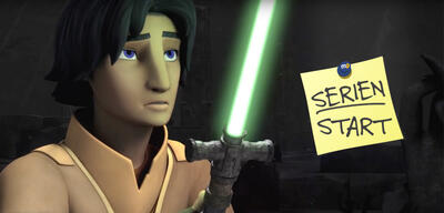 Star Wars Rebels, Staffel 3: Ezra