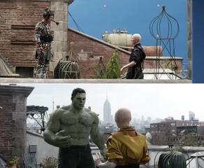 Hulk bittet die Älteste um den Zeitstein
