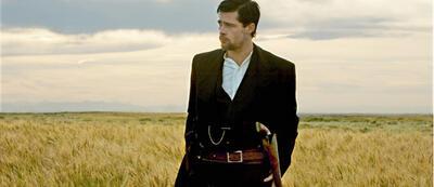 Brad Pitt in Die Ermordung des Jesse James durch den Feigling Robert Ford