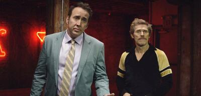 Cage und Dafoe in Dog Eat Dog