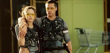Bild zu:  Angelina Jolie & Brad Pitt in Mr. & Mrs. Smith