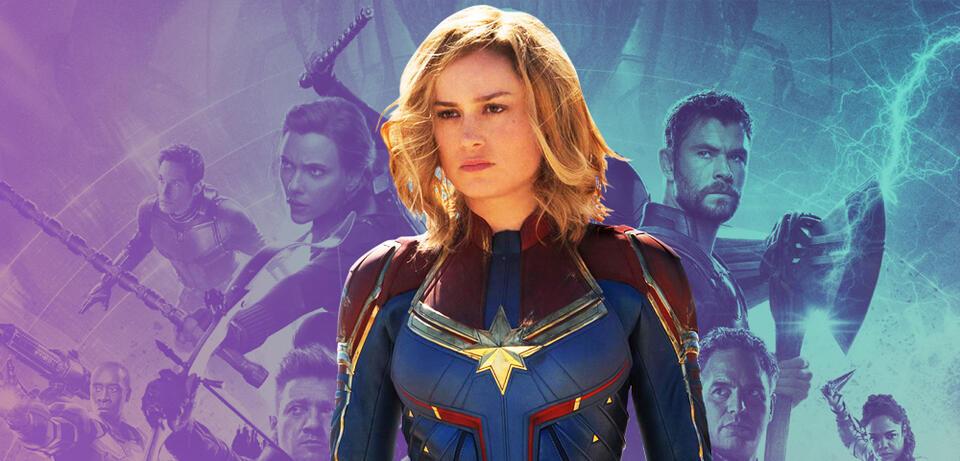 Avengers 4 Endgame Ist Komplett überfordert Mit Captain Marvel