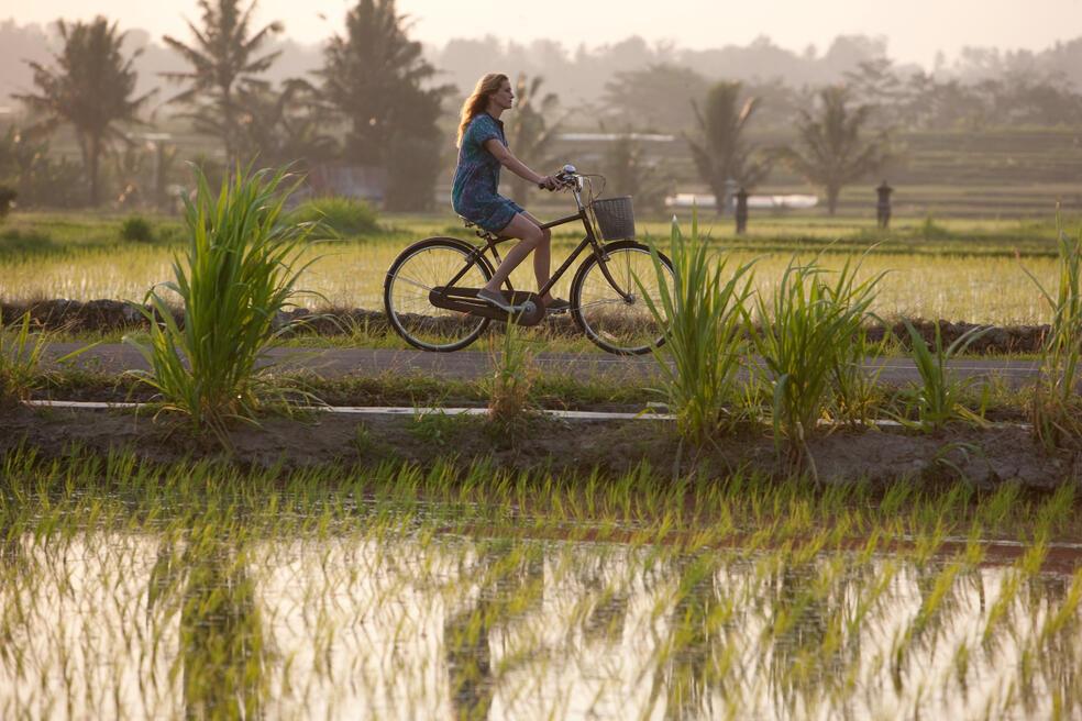 Auf Bali findet Elizabeth Gilbert (JULIA ROBERTS) inneren Frieden und Ausgeglichenheit.