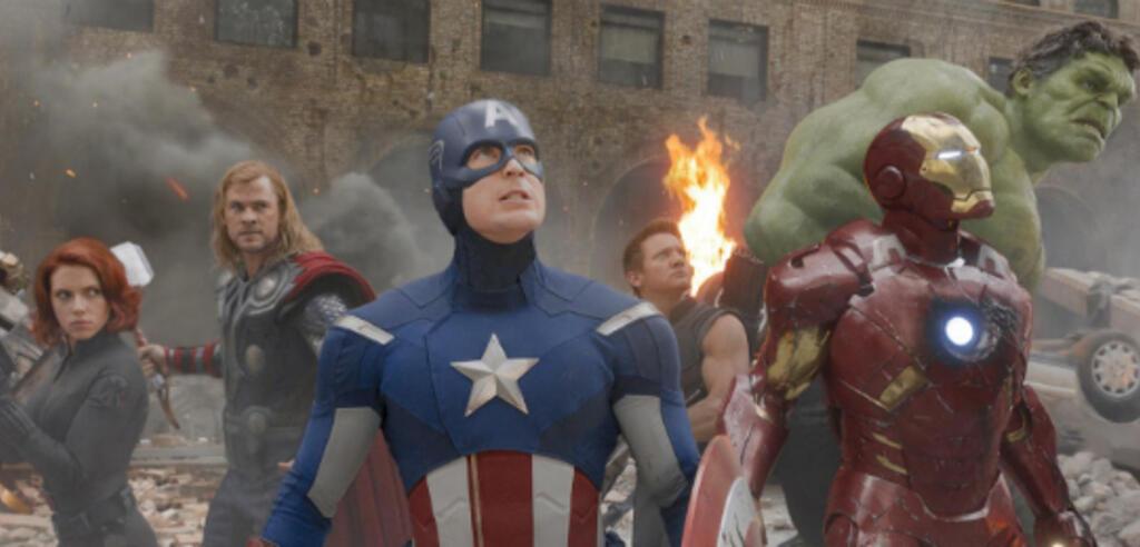 Muss einer von ihnen dran glauben? Szene aus The Avengers.