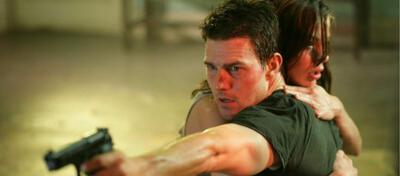 Hier noch in der Hauptrolle: Tom Cruise in MI-III