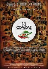 18 Comidas - Poster
