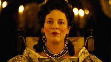 Olivia Colman als Queen Anne in The Favourite
