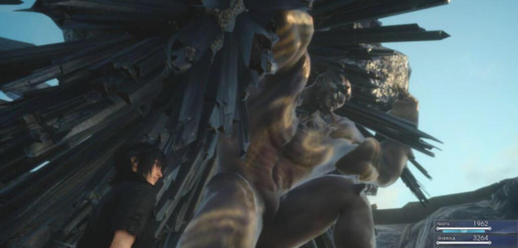 Titan in der Final Fantasy XV Duscae-Demo