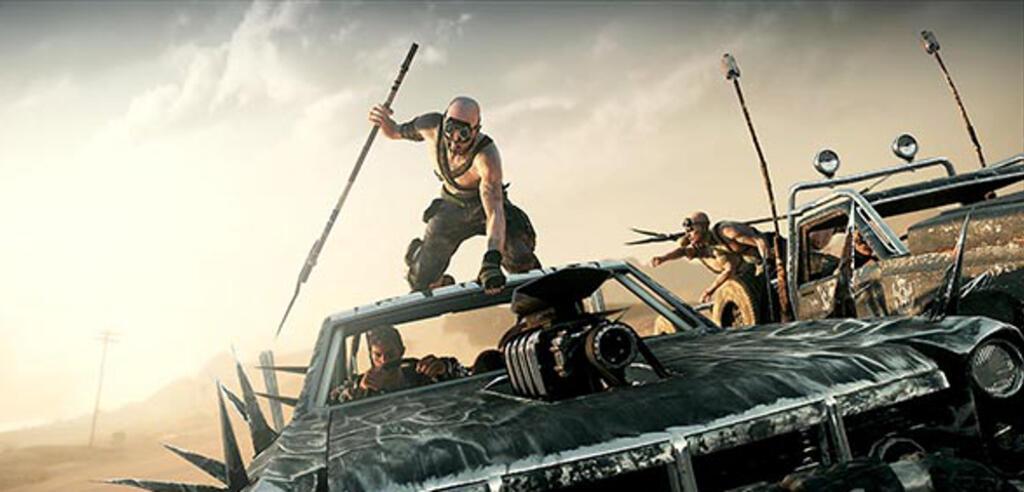 Einen Großteil von Mad Max sitzen wir hinterm Steuer