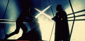 Bild zu:  Lichtschwertduell in Star Wars