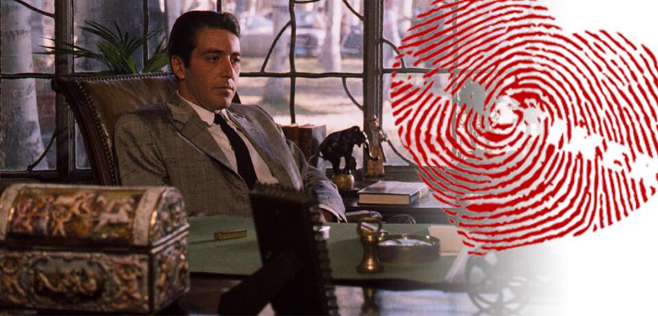 Al Pacino als Michael Corleone allein in Der Pate 2