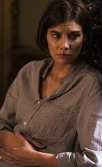 The Walking Dead: Maggie fasst sich in der neusten Folge an ihren Bauch