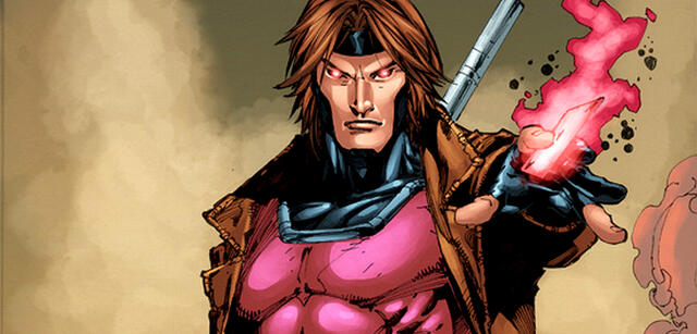Gambit in einem Comic