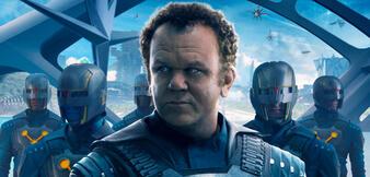 John C. Reilly inGuardians of the Galaxy
