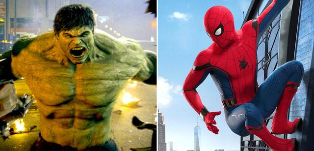 Hulk und Spider-Man