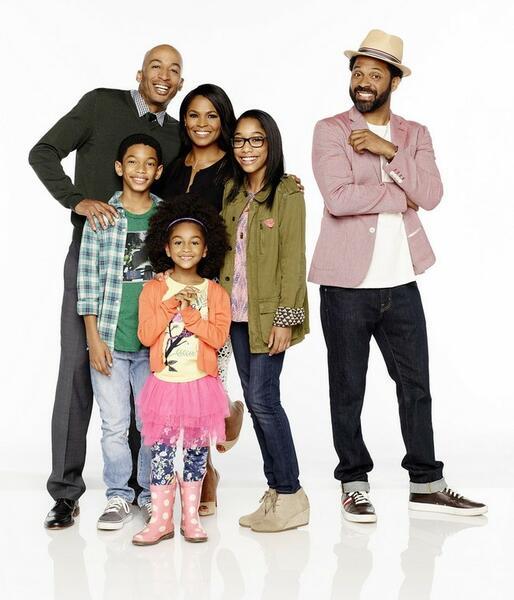 Uncle Buck mit Nia Long, James Lesure, Sayeed Shahidi, Aalyrah Caldwell und Iman Benson
