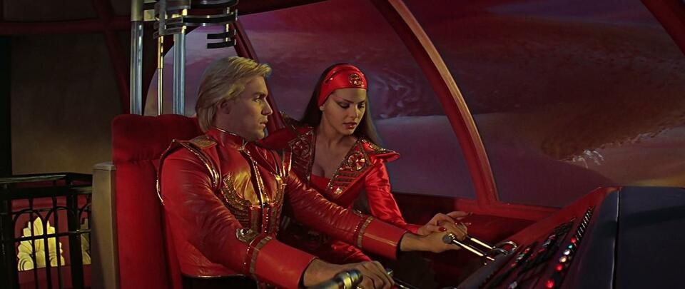 Flash Gordon mit Ornella Muti und Sam J. Jones