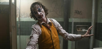 Joaquin Phoenix in und als Joker