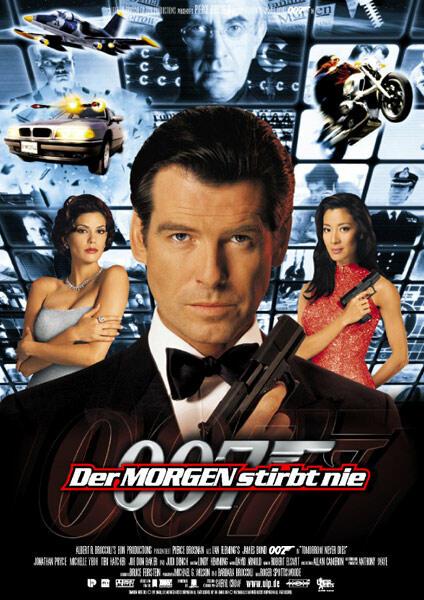 James Bond 007 - Der Morgen stirbt nie mit Pierce Brosnan, Michelle Yeoh und Teri Hatcher