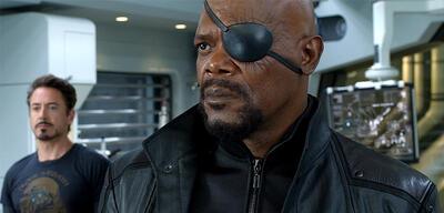 Nick Fury in Avengers