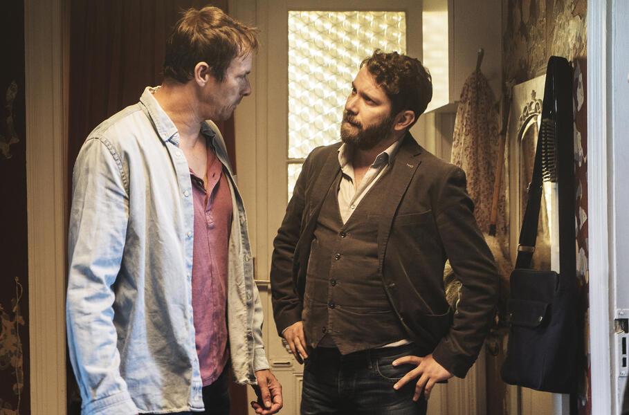 Tatort: Die harte Kern mit Christian Ulmen und Marc Hosemann