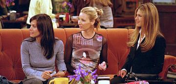 Courteney Cox, Lisa Kudwow und Jenniver Aniston in Friends