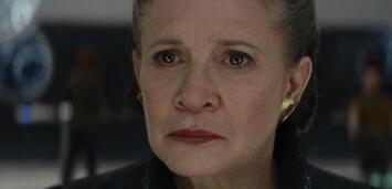 Bild zu:  Star Wars: Episode VIII - Die letzten Jedi: Carrie Fisher als General Leia