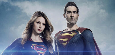 The CWs Supergirl und Superman