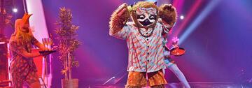 Das Faultier aus The Masked Singer