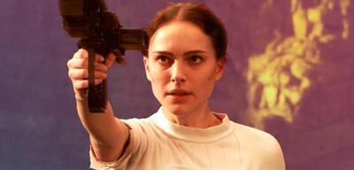 Natalie Portman in Star Wars