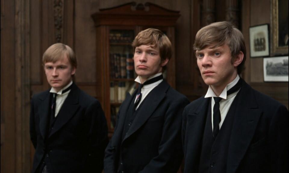 If... mit Malcolm McDowell, Richard Warwick und David Wood