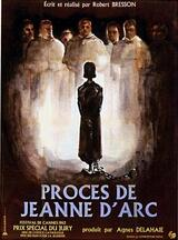 Der Prozeß der Jeanne d'Arc - Poster