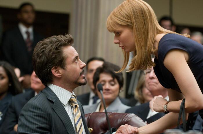 Iron Man 2 mit Robert Downey Jr. und Gwyneth Paltrow