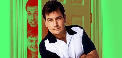 Charlie Sheen in Two and a Half Men