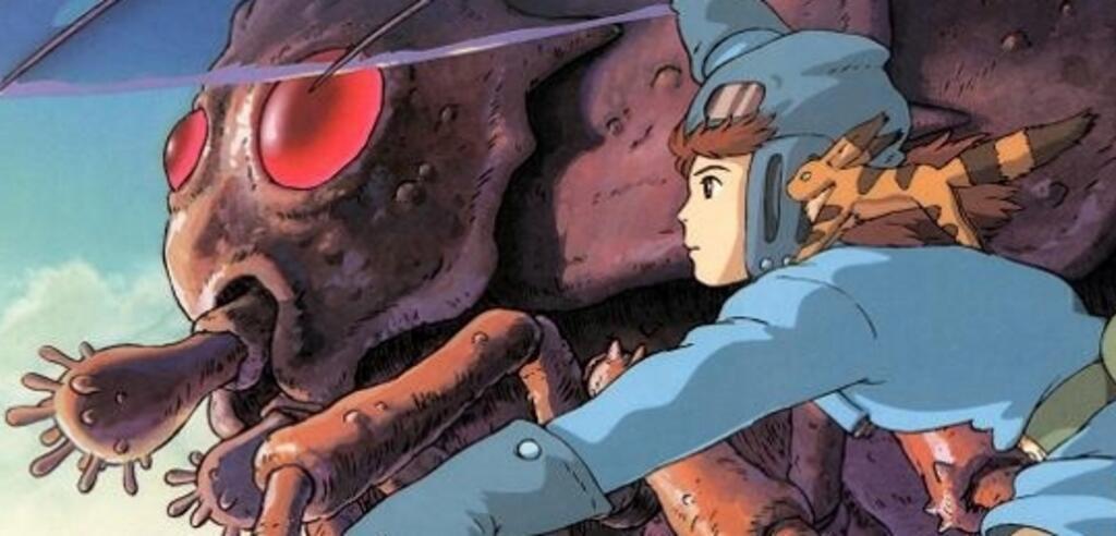 Nausicaä - Prinzessin aus dem Tal der Winde im Flug