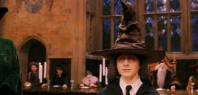 Der sprechende Hut aus Harry Potter